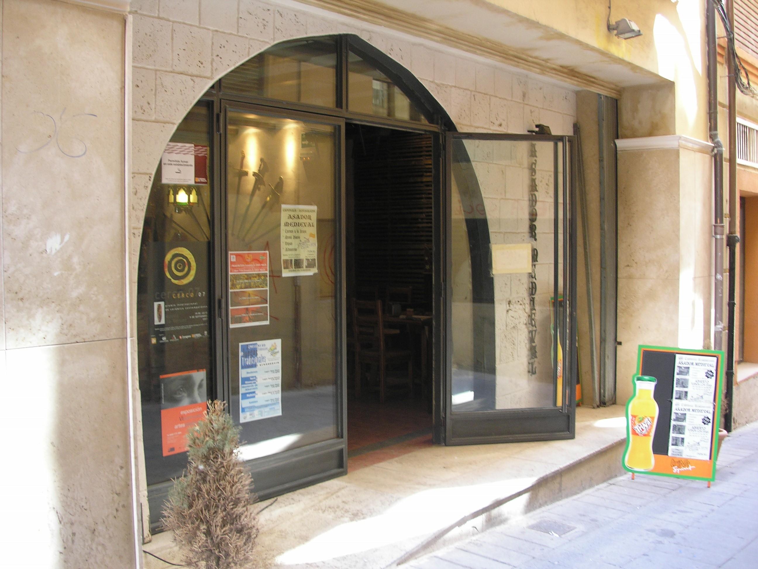 ASADOR MEDIEVAL - TERUEL                                  Teruel