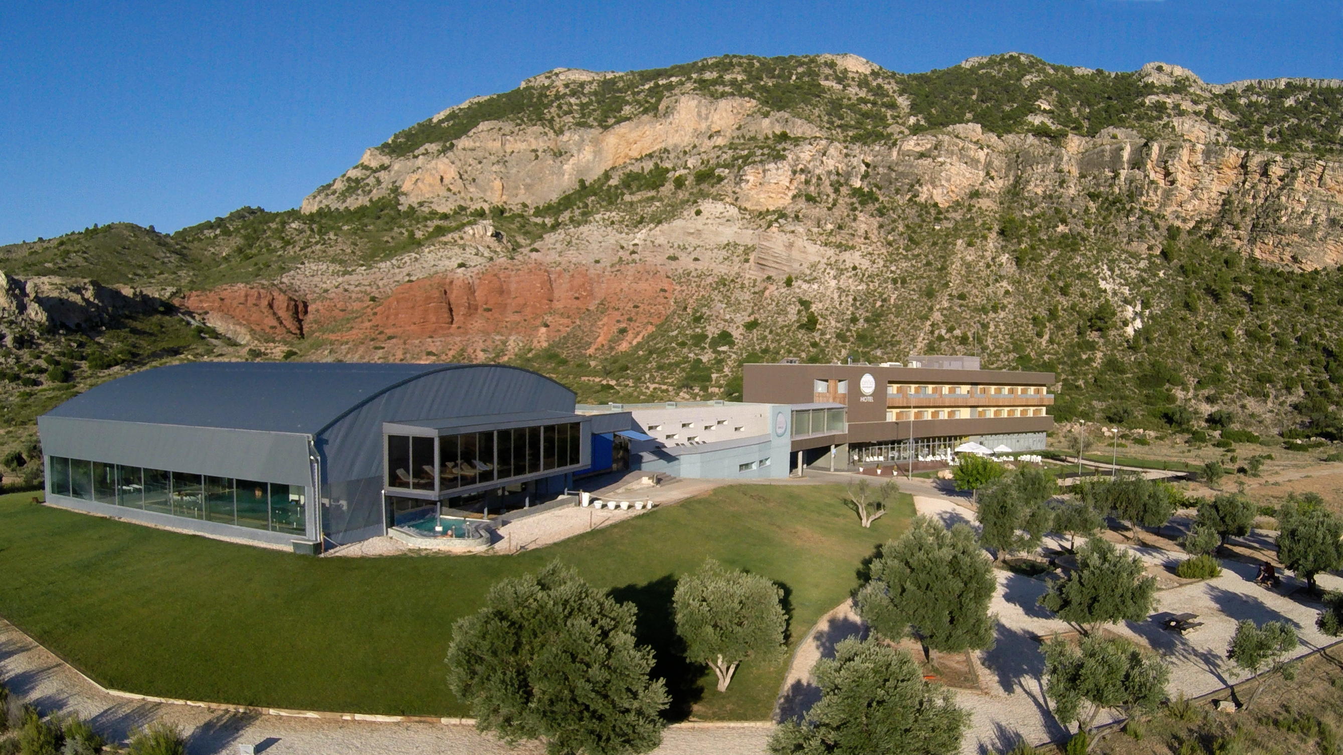HOTEL BALNEARIO DE ARIÑO - TERUEL  Hotel  Ariño, Teruel Andorra-Sierra de Arcos