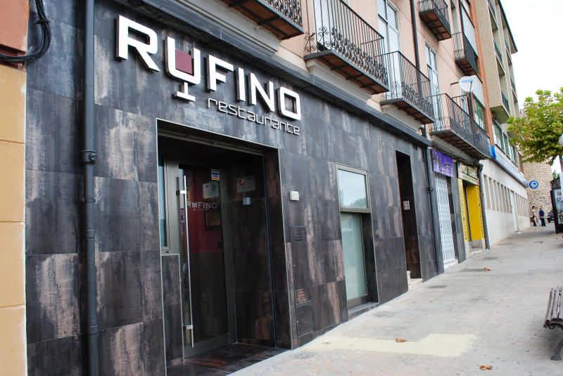 RESTAURANTE RUFINO                                  Teruel Comunidad de Teruel