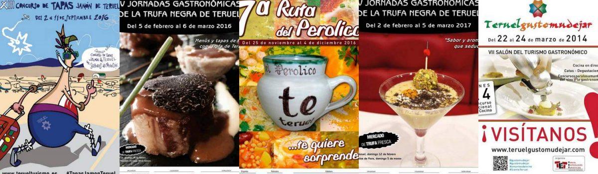 Calendario Eventos Gastronómicos Teruel 2018