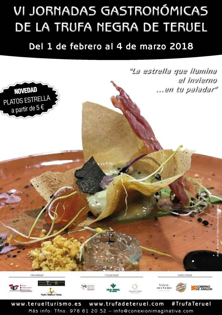 Cartel Jornadas Trufa 2018 Teruel