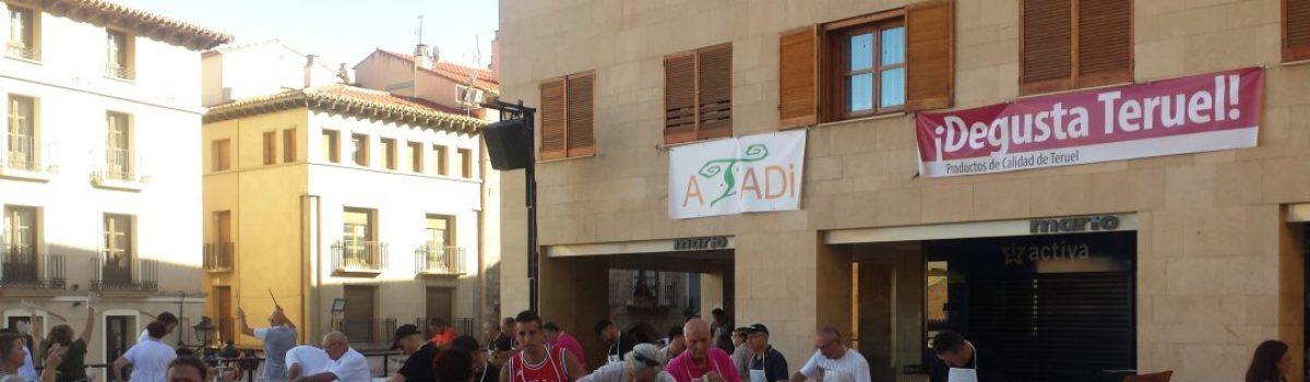 Fiesta motera en Alcañiz saboreando los mejores productos de la provincia de Teruel