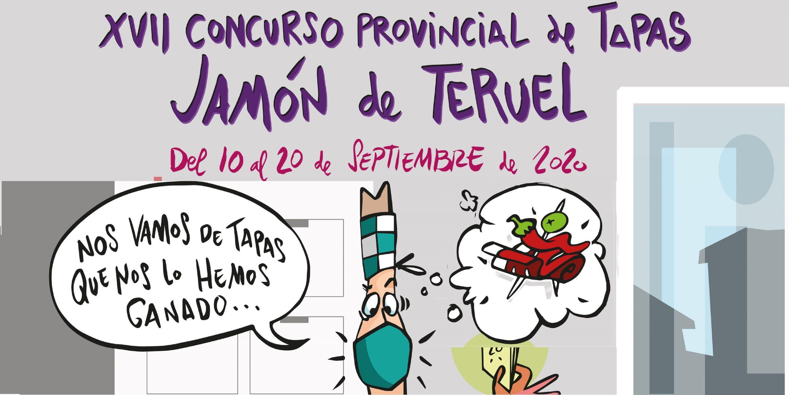 XVII CONCURSO PROVINCIAL TAPAS JAMÓN DE TERUEL