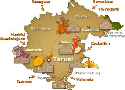 DINÓPOLIS   Teruel Comunidad de Teruel
