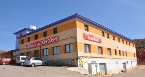 HOTEL DON COSME   Hotel  Montalbán Cuencas Mineras