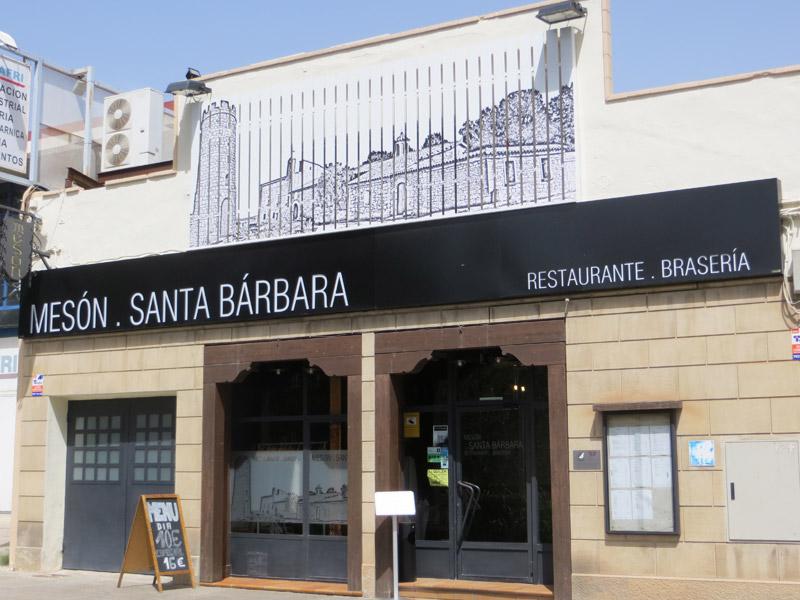 MESÓN ASADOR SANTA BARBARA   Alcañiz Bajo Aragón